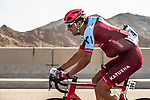 Reto Hollenstein (SUI) Team Katusha-Alpecin on water bottle duty during Stage 1 of the 2018 Tour of Oman running 162.5km from Nizwa to Sultan Qaboos University. 13th February 2018.<br /> Picture: ASO/Muscat Municipality/Kare Dehlie Thorstad | Cyclefile<br /> <br /> <br /> All photos usage must carry mandatory copyright credit (&copy; Cyclefile | ASO/Muscat Municipality/Kare Dehlie Thorstad)