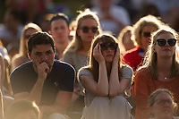 Fans on Murray Mound<br /> <br /> Photographer Ashley Western/CameraSport<br /> <br /> Wimbledon Lawn Tennis Championships - Day 5 - friday 7th July 2017 -  All England Lawn Tennis and Croquet Club - Wimbledon - London - England<br /> <br /> World Copyright &not;&copy; 2017 CameraSport. All rights reserved. 43 Linden Ave. Countesthorpe. Leicester. England. LE8 5PG - Tel: +44 (0) 116 277 4147 - admin@camerasport.com - www.camerasport.com