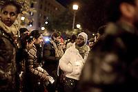 Roma, 18 Dicembre 2013<br /> Giornata internazionale dei Migranti.<br /> Corteo per i diritti di migranti e rifugiati, contro i CIE e contro l'austerità.<br /> International Migrants Day.