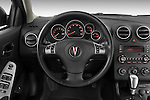 2008 Pontiac G6 Sedan GT Steering wheel Stock Photo