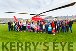 A great turn out by the community at Con Keating Park Cahersiveen to view the Irish Community Rapid Response Helicopter on Saturday.