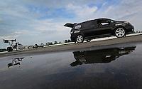 31 August - 3 September, 2012, Indianapolis, Indiana USA, Khalid Albalooshi, Al-Anabi Racing, top fuel dragster, tow vehicle, Toyota Sienna @2012, Mark J. Rebilas