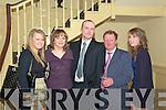 Duagh GAA Social: Attending the Duagh GAA club Social on Friday night last at the Listowel Arms Hotel were Shauna Stack, Michelle & Dan Carmody, Jeremiah Murphy & Yvonne Carmody.