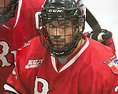 Alex Rodriguez (RPI - 39) - The Harvard University Crimson defeated the visiting Rensselaer Polytechnic Institute Engineers 5-2 in game 1 of their ECAC quarterfinal series on Friday, March 11, 2016, at Bright-Landry Hockey Center in Boston, Massachusetts.