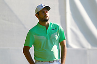 Pablo Larrazabal looks relaxed on the 2nd tee during the BMW PGA Golf Championship at Wentworth Golf Course, Wentworth Drive, Virginia Water, England on 26 May 2017. Photo by Steve McCarthy/PRiME Media Images.