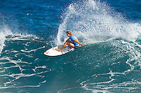 Stephanie Gilmore (AUS).  SOMEWHERE, Porta Del Sol/Puerto Rico (Monday, November 1, 2010) - Stephanie Gilmore (AUS), 22, has claimed her fourth, consecutive ASP Women's World Title, making history at the Rip Curl Women's Pro Search Puerto Rico.. .With her Quarterfinal win over Melanie Bartels (HAW), 28, Gilmore amassed enough points to knock sole remaining contender, Sally Fitzgibbons (AUS), 19, out of the running for the 2010 ASP Women's World Title Race..Newly-crowned four-time ASP Women's World Champion Stephanie Gilmore (AUS), 22, has taken out her 16th elite tour event today, defeating rookie sensation Carissa Moore (HAW), 18, in two-to-three foot (1 metre) waves in Porta Del Sol to claim the Rip Curl Women's Search Pro Puerto Rico. .Photo: joliphotos.com