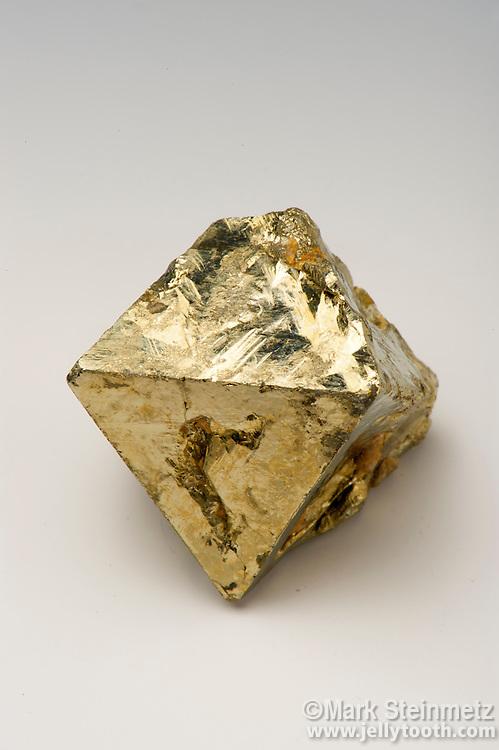 Pyrite octahedron. Trabzon, Turkey