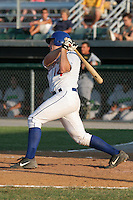 Auburn Doubledays Matt Liuzza during a NY-Penn League game at Falcon Park on June 24, 2006 in Auburn, New York.  (Mike Janes/Four Seam Images)