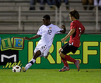 Joseph AmonThe United States defeated Canada, 3-0, during the final game of the CONCACAF Men's Under 17 Championship at Catherine Hall Stadium in Montego Bay, Jamaica.
