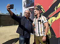 FX FEARLESS FORUM AT SAN DIEGO COMIC-CON© 2019: L-R: Cast Members Edward James Olmos and JD Pardo during the MAYANS M.C. activation on Saturday, July 20 at SAN DIEGO COMIC-CON© 2019. CR: Frank Micelotta/FX/PictureGroup © 2019 FX Networks