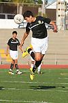 Torrance, CA 01/24/12 - Oscar Chacon (Peninsula #8) in action during the Peninsula vs West Torrance CIF Bay league game.