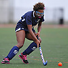 Alexis Holt #2 of Baldwin looks to gain possession during a Nassau County Conference I varsity field hockey match against host Garden City High School on Friday, Sept. 30, 2016.