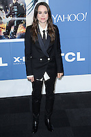 "NEW YORK CITY, NY, USA - MAY 10: Ellen Page at the World Premiere Of Twentieth Century Fox's ""X-Men: Days Of Future Past"" held at the Jacob Javits Center on May 10, 2014 in New York City, New York, United States. (Photo by Jeffery Duran/Celebrity Monitor)"
