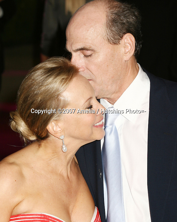 James Taylor & Wife.2007 Vanity Fair Oscar Party.Mortons Resturant.W Hollywood, CA.February 25, 2007.©2007 Amelia / Hutchins Photo....
