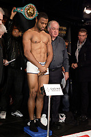 Montreal (QC) CANADA- Dec 10 2009- Official Weighting before Dec 11 Fight:<br /> Jean Pascal