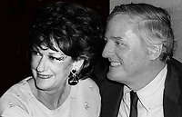 William F. Buckley and wife Pat Buckley 1978<br /> Photo By Adam Scull/PHOTOlink.net