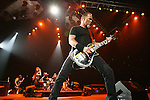 Metallica performs at the Sommet Center in Nashville, Tennessee on Monday, Sept. 14, 2009. (Photo by Frederick Breedon)