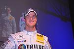 Motorsport: DTM Vorstellung  2008 Duesseldorf<br /> <br /> Ralf Schumacher laechelnt bei der Praesentation in Duesseldorf auf der Pressekonferenz.<br /> <br /> <br /> Foto © nph (nordphoto)