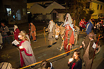 Procession of Las Posadas, Sutter Creek, Calif