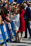 Queen Letizia of Spain and Princess Leonor of Spain visit Covadonga, Spain. September 08, 2018. (ALTERPHOTOS/A. Perez Meca)