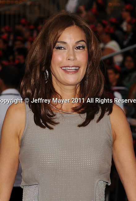 """={ANAHEIM}=, CA - MAY 07: Teri Hatcher  arrives to the """"Pirates Of The Caribbean: On Stranger Tides"""" World Premiere at Disneyland on May 7, 2011 in Anaheim, United States."""