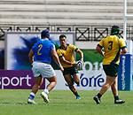 Jordan Petaia, Italy 15 v 44 Australia Stade D'Honneur du Parc des Sports et de L'Amitie, Narbonne France. World Rugby U20 Championship 2018. Photo Martin Seras Lima