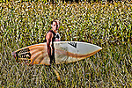 Surfer athlete lifestyle portrait.