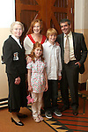 Alex Agrios with his family and his sponsor, Briege Murphy at Termonfeckin Confirmation...Photo NEWSFILE/Jenny Matthews.(Photo credit should read Jenny Matthews/NEWSFILE)....This Picture has been sent you under the condtions enclosed by:.Newsfile Ltd..The Studio,.Millmount Abbey,.Drogheda,.Co Meath..Ireland..Tel: +353(0)41-9871240.Fax: +353(0)41-9871260.GSM: +353(0)86-2500958.email: pictures@newsfile.ie.www.newsfile.ie.FTP: 193.120.102.198.