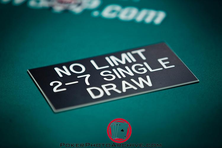 No Limit 2-7 Lowball