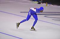 SPEEDSKATING: CALGARY: 13-11-2015, Olympic Oval, training Shani Davis, ©foto Martin de Jong
