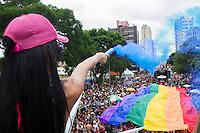 """CURITIBA, PR, 01 DE DEZEMBRO 2013 – PARADA DA DIVERSIDADE LGBT- Com o tema: """"Liberdade e Cidadania, defenda a democracia"""", a Parada da Diversidade de Curitiba que acontece neste domingo (01) no centro Civico, centro de Curitiba. (FOTO: PAULO LISBOA  / BRAZIL PHOTO PRESS)"""