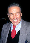Mike Wallace pictured at the 55th Annual Peabody Awards in New York City on May 6, 1996.
