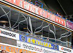Huddersfield Town 1 Wolverhampton Wanderers 0, 27/08/2016. John Smith's Stadium, Championship. Reflections of the stadium in The Fantastic Media Stand. Photo by Paul Thompson.