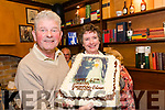 "At their daughter's wedding ""afters"" in Kingston's, Killorglin on Saturday Paudie & Eileen O'Connor were surprised to be presented with a cake to celebrate their own 40th wedding anniversary"