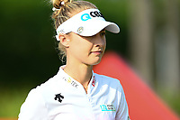 SINGAPORE - MARCH 02: Nelly Korda of USA walking-off the on the 1st tee during the third round of the HSBC Women's World Championship 2019 at Sentosa Golf Club - Tanjong Course, Singapore on March 02, 2019.<br /> .<br /> .<br /> .<br /> (Photo by: Naratip Golf Srisupab/SEALs Sports Images)<br /> .<br /> Any image use must include a mandatory credit line adjacent to the content which should read: Naratip Golf Srisupab/SEALs Sports Images