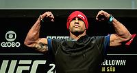 RIO DE JANEIRO, RJ, 02.06.2017 – UFC-RJ – Victor Belford durante pesagem para o UFC 212 na Arena Jeunesse, na zona oeste da cidade do Rio de Janeiro, na noite desta sexta-feira (02). (Foto: Jayson Braga / Brazil Photo Press)