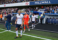 Bolton Wanderers' Darren Pratley leads out the side<br /> <br /> Photographer Ashley Western/CameraSport<br /> <br /> The EFL Sky Bet Championship - Millwall v Bolton Wanderers - Saturday August 12th 2017 - The Den - London<br /> <br /> World Copyright &not;&copy; 2017 CameraSport. All rights reserved. 43 Linden Ave. Countesthorpe. Leicester. England. LE8 5PG - Tel: +44 (0) 116 277 4147 - admin@camerasport.com - www.camerasport.com