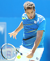 Feliciano Lopez (Spain) during his match versus Dusan Lajovic (Serbia)- Aegon Tennis Championships - 10/06/14 - MANDATORY CREDIT: Rob Newell - Self billing applies where appropriate - 07808 022 631 - robnew1168@aol.com - NO UNPAID USE - BACS details for payment: Rob Newell A/C 11891604 Sort Code 16-60-51