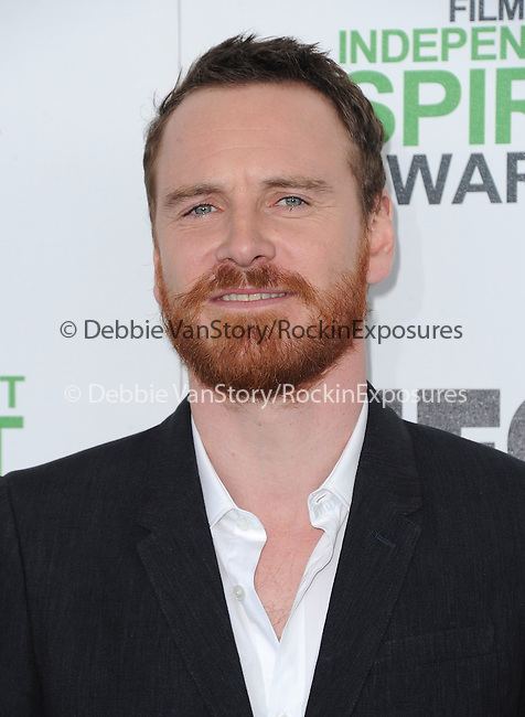Michael Fassbender<br />  attends The 2014 Film Independent Spirit Awards held at Santa Monica Beach in Santa Monica, California on March 01,2014                                                                               © 2014 Hollywood Press Agency