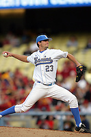 February 28 2010: Dan Klein of UCLA during game against USC at Dodger Stadium in Los Angeles,CA.  Photo by Larry Goren/Four Seam Images