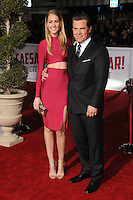 "1 February 2016 - Westwood, California - Kathryn Boyd, Josh Brolin. ""Hail, Caesar!"" Los Angeles Premiere held at the Regency Village Theatre. Photo Credit: Byron Purvis/AdMedia"