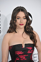 Kat Dennings at the 2014 People's Choice Awards at the Nokia Theatre, LA Live.<br /> January 8, 2014  Los Angeles, CA<br /> Picture: Paul Smith / Featureflash