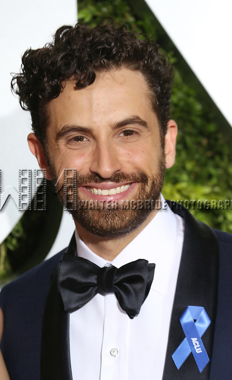 Brandon Uranowitz attends the 71st Annual Tony Awards at Radio City Music Hall on June 11, 2017 in New York City.