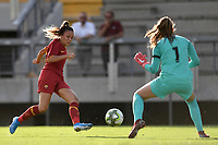 Annamaria Serturini of AS Roma  past Arianna Criscione of PS and scores the goal of 1-2 <br /> Roma 8/9/2019 Stadio Tre Fontane <br /> Luisa Petrucci Trophy 2019<br /> AS Roma - Paris Saint Germain<br /> Photo Andrea Staccioli / Insidefoto