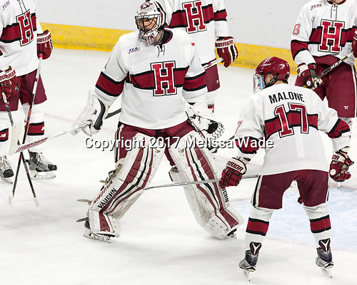 Merrick Madsen (Harvard - 31), Sean Malone (Harvard - 17) - The Harvard University Crimson defeated the Air Force Academy Falcons 3-2 in the NCAA East Regional final on Saturday, March 25, 2017, at the Dunkin' Donuts Center in Providence, Rhode Island.