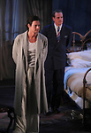 Benjamin Walker & Michael Park during the Broadway Opening Night Performance Curtain Call for 'Cat On A Hot Tin Roof' at the Richard Rodgers Theatre in New York City on 1/17/2013