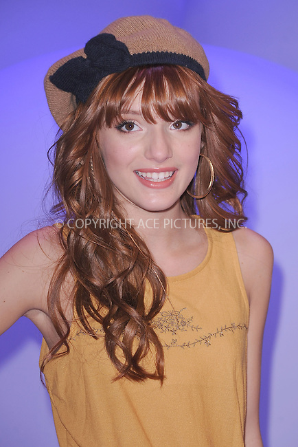 WWW.ACEPIXS.COM . . . . . .March 16, 2011...New York City...Bella Thorne attends Disney Kids and Family Upfront on March 16, 2011 in New York City....Please byline: KRISTIN CALLAHAN - ACEPIXS.COM.. . . . . . ..Ace Pictures, Inc: ..tel: (212) 243 8787 or (646) 769 0430..e-mail: info@acepixs.com..web: http://www.acepixs.com .