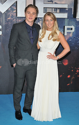 Ben Hardy &amp; Katriona Perrett at the &quot;X-Men : Apocalypse&quot; global fan screening, BFI Imax, Charlie Chaplin Walk, London, England, UK, on Monday 09 May 2016.<br /> CAP/CAN<br /> &copy;CAN/Capital Pictures /MediaPunch ***NORTH AMERICA AND SOUTH AMERICA ONLY***