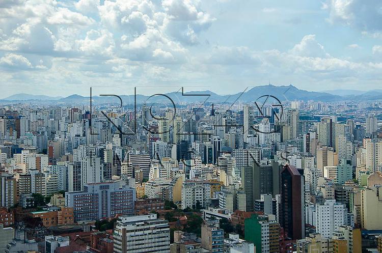 Vista da cidade, a partir do Edifício Itália, São Paulo - SP, 01/2014.