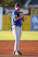 August 28th, 2007:  Brad Emaus of the Auburn Doubledays, Class-A affiliate of the Toronto Blue Jays at Dwyer Stadium in Batavia, NY.  Photo by:  Mike Janes/Four Seam Images